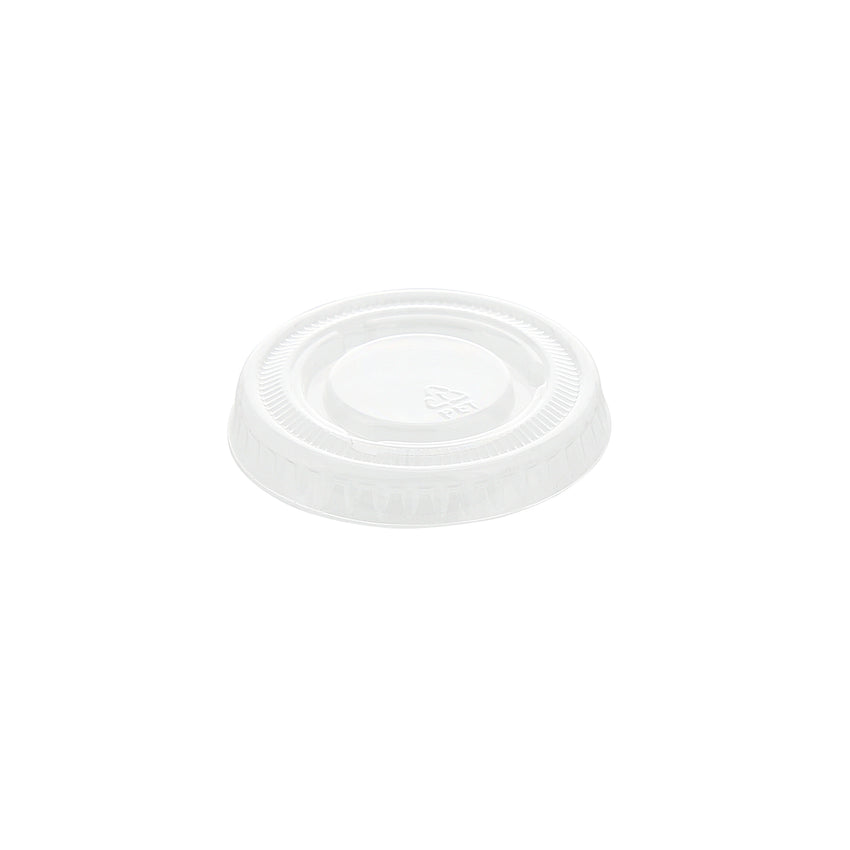 1 oz. Clear Polypropylene Portion Cup Lid