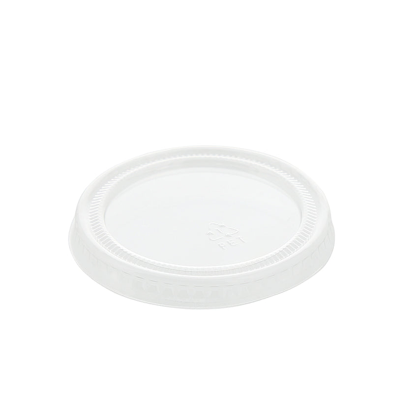 1.5 to 2 oz. Clear Polypropylene Portion Cup Lid