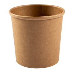 12 OZ KRAFT PAPER FOOD CONTAINER, 20/25