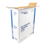 16 OZ KRAFT PAPER FOOD CONTAINER AND LID COMBO, open case