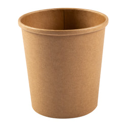 16 OZ KRAFT PAPER FOOD CONTAINER, 20/25