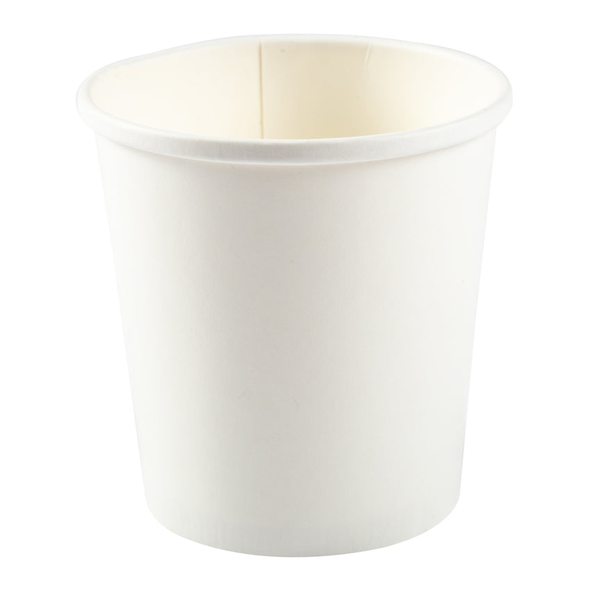 16 OZ WHITE PAPER FOOD CONTAINER