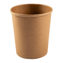32 OZ KRAFT PAPER FOOD CONTAINER, 20/25