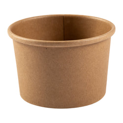 8 OZ KRAFT PAPER FOOD CONTAINER, 20/25