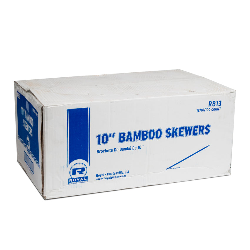 "BAMBOO SKEWER 10"", Closed Case"