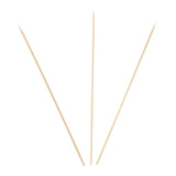 "BAMBOO SKEWER 10"", Three Skewers Fanned Out"