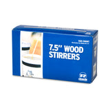 "7.5"" WOOD COFFEE STIRRERS, Closed Inner Box"