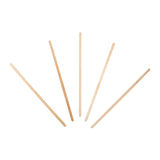 "WOOD STIR STICKS 7"", Multiple Sticks Fanned Out"