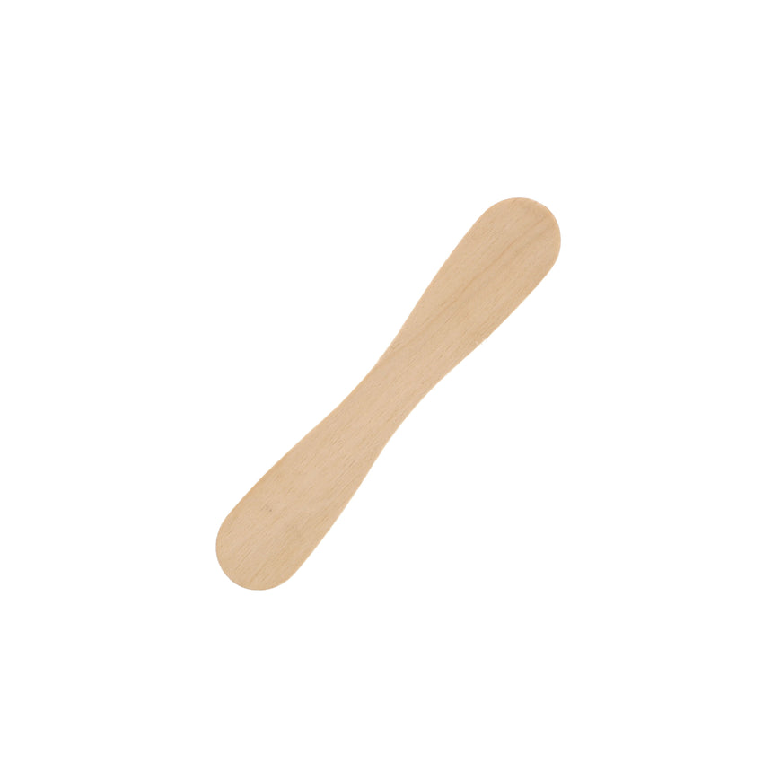 PAPER Wrapped WOODEN SPOON, Single Wooden Spoon