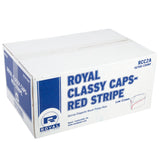 ROYAL CLASSY CAP RED STRIPE, Closed Case