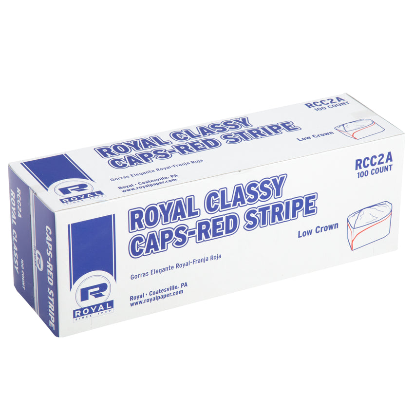ROYAL CLASSY CAP RED STRIPE, Closed Inner Box