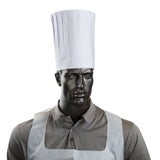 "ROYAL 9"" PLEATED CHEF HAT WITH COMFORT BAND, Hat On Mannequin"