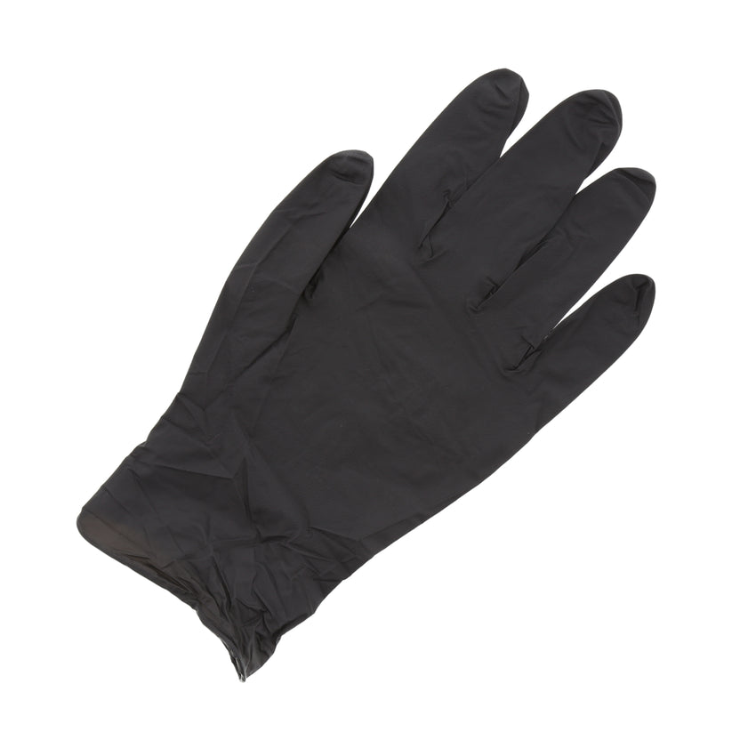 BLACK GENERAL PURPOSE POWDER FREE NITRILE GLOVES