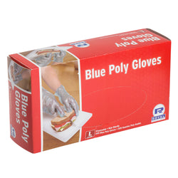 POLY GLOVES BLUE