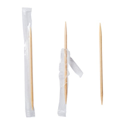 INDIVIDUAL CELLO Wrapped TOOTHPICKS MINT