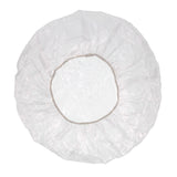 "21"" CLEAR POLY BOUFFANT CAP (SHOWER CAP)"