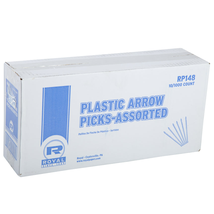 ASSORTED PLASTIC ARROW PICKS, Closed Case