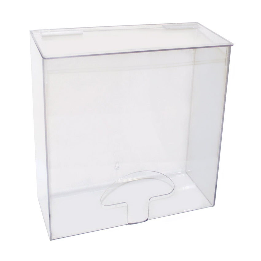 "ACRYLIC DISPENSER LARGE 12"" X 5"" X 12"""