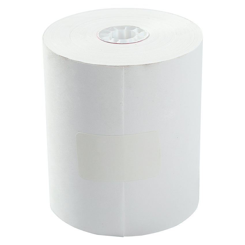 "3-1/4"" X 165' BOND 1 PLY REGISTER ROLL WHITE"