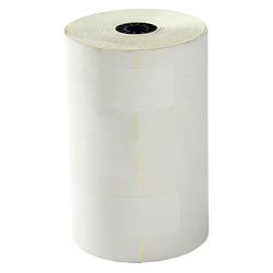 Carbonless Roll, White-Canary, 4.5