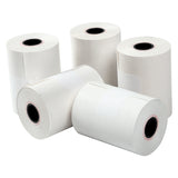 "2-1/4"" X 80' THERMAL 1 PLY WHITE REGISTER ROLL, Five Rolls Group View"