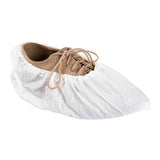 "CROSS LINKED POLYETHYLENE SHOE COVER 18.5"" EXTRA LARGE WHITE"