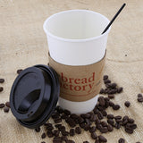"SIP STRAW 7.5"" BLACK, Straw In Coffee Cup"