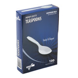 Clear Polystyrene Teaspoon, Heavy Weight, Inner Package