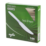 Champagne Polystyrene Knife, Heavy Weight, Inner Package