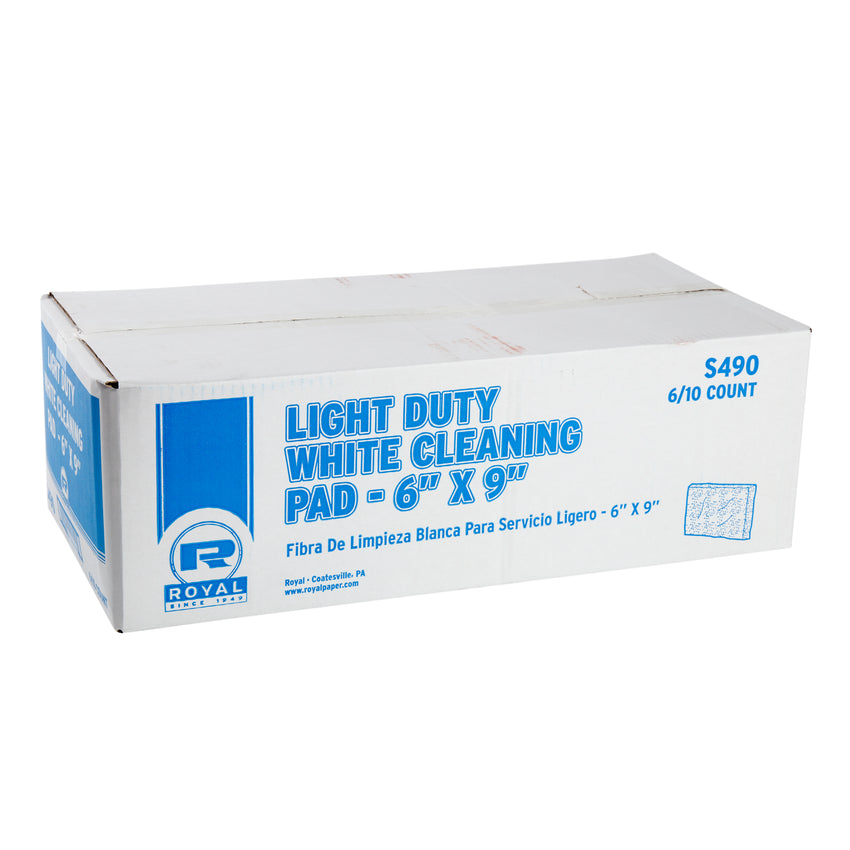 WHITE LIGHT DUTY SCOURING PADS, Closed Case