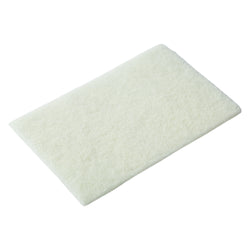 WHITE LIGHT DUTY SCOURING PADS