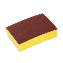 COMBINATION SYNTHETIC SCOURING PAD/SPONGE