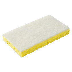 WHITE LIGHT DUTY SCOURING PAD/SPONGE COMBO