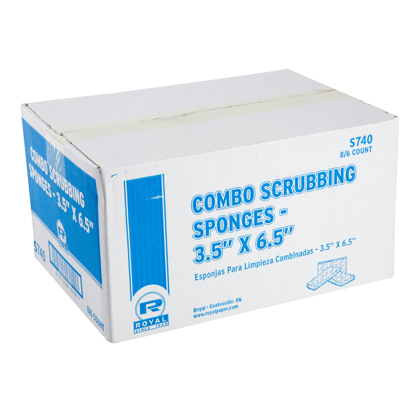 COMBO SCOURING PAD/SPONGE, Closed Case