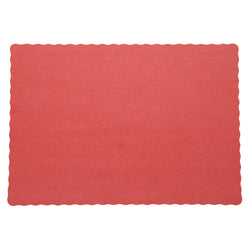 RED PLACEMAT 13.5