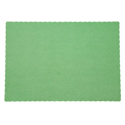 GREEN PLACEMAT 13.5