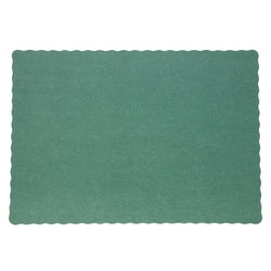 DARK GREEN PLACEMAT 13.5