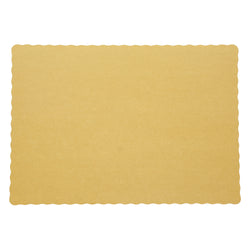 GOLD PLACEMAT 13.5