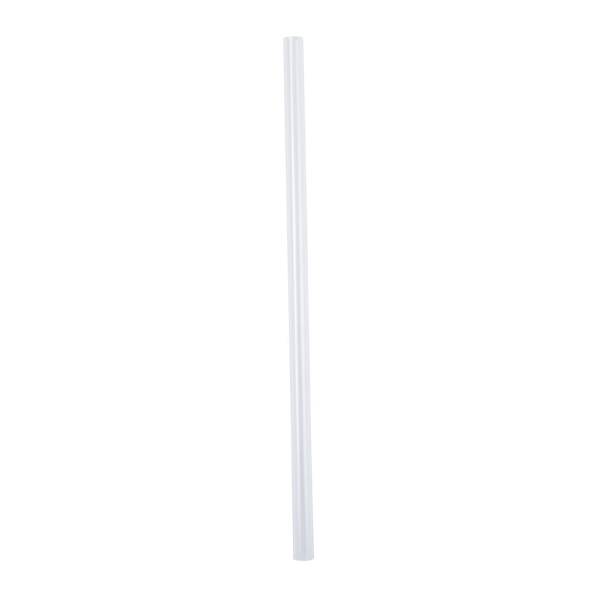 "7.75"" Giant Clear Straw, Unwrapped"