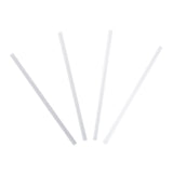 "7.75"" Giant Clear Straw, Unwrapped, Group Image, Fanned Out Straws"