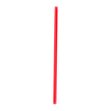 "9"" Giant Red Straw, Unwrapped"