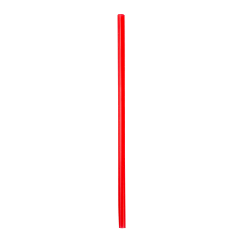 "9"" Giant Red Straws, Unwrapped"