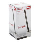 "10.25"" Giant Straw, Black, Paper Wrapped, Inner Package"