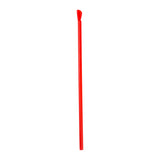 "10"" Giant Red Spoon Straw, Poly Wrapped"