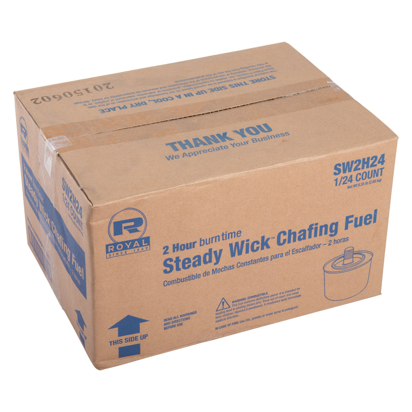 2 HR STEADY WICK CHAFING FUEL, Closed Case