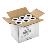 "THERMAL ROLLS, 2-1/4"" X 80', 7/16"" ID CORE, Case Open"