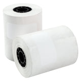 "POS Tray, 2.25"" x 80' 1 Ply Thermal Register Rolls, Photo of Two Rolls"
