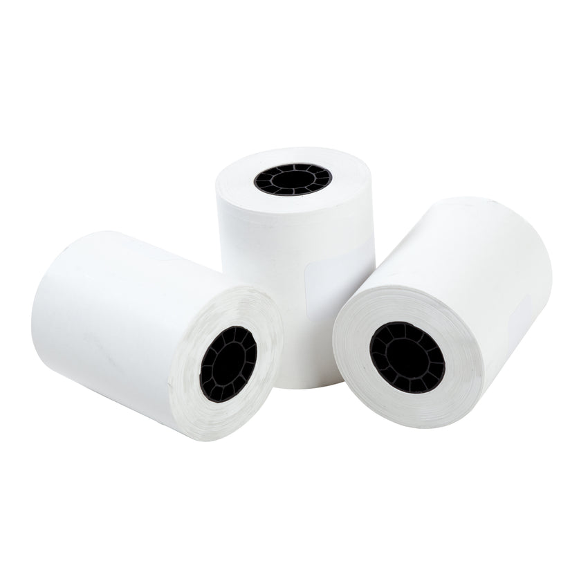 "Thermal Rolls, 2-1/4"" x 80' with 7/16"" ID Core, Three Rolls"
