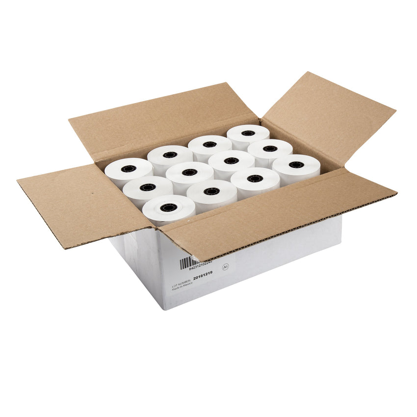 "Thermal Rolls, 2-5/16"" x 200' with 7/6"" ID Core, Open Case"