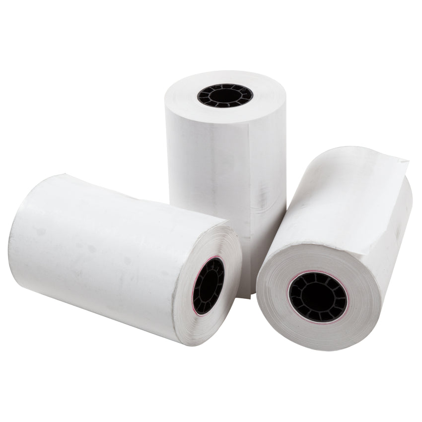 "Thermal Rolls, 3-1/8"" x 95' with 7/16"" ID Core, Three Rolls"